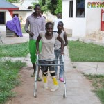 Adwoa is walking .... and so does Nyamekye!!