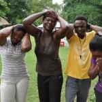 Goudkoorts in Ghana